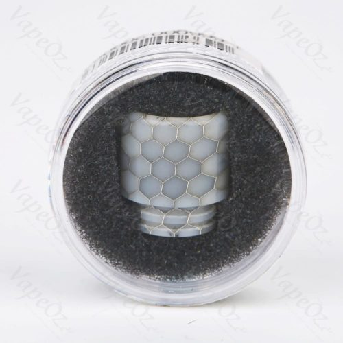 Blitz Snake Skin Resin Drip Tip black white