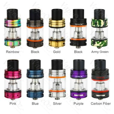 Smok TFV8 Big Baby Tank colours VapeOz