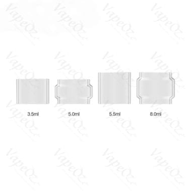 VOOPOO Replacement Glass Tube UFORCE Tank 5 5ml 1