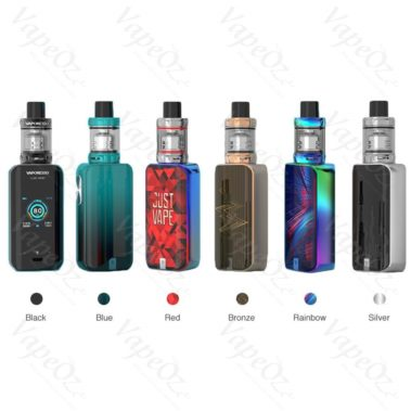 vaporesso luxe nano touch screen kit colours all