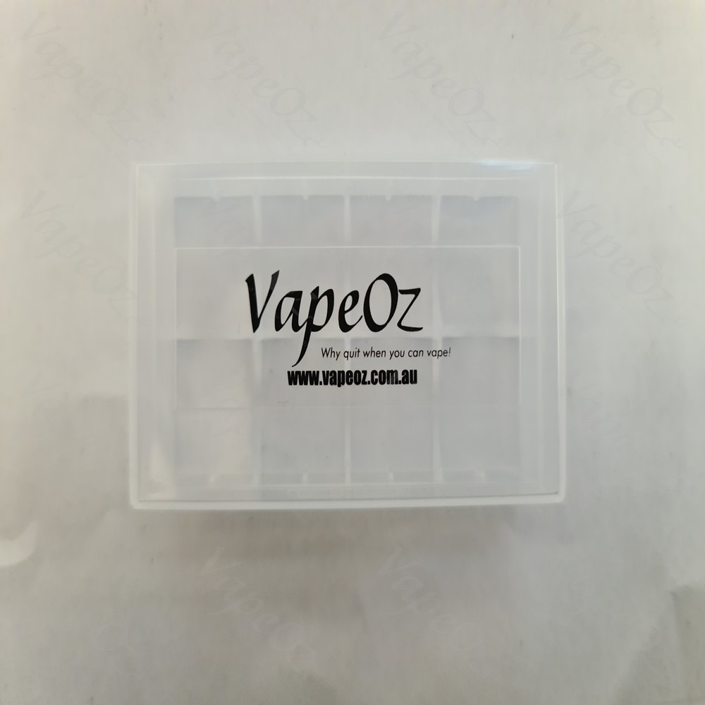 21700 Battery Cover Twin Plastic Storage Case for 21700 Battery VapeOz