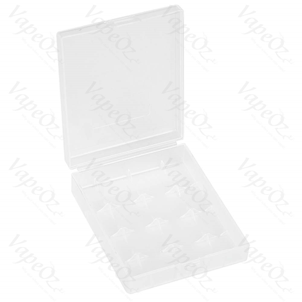 Plastic Storage Case for pcs Batteries