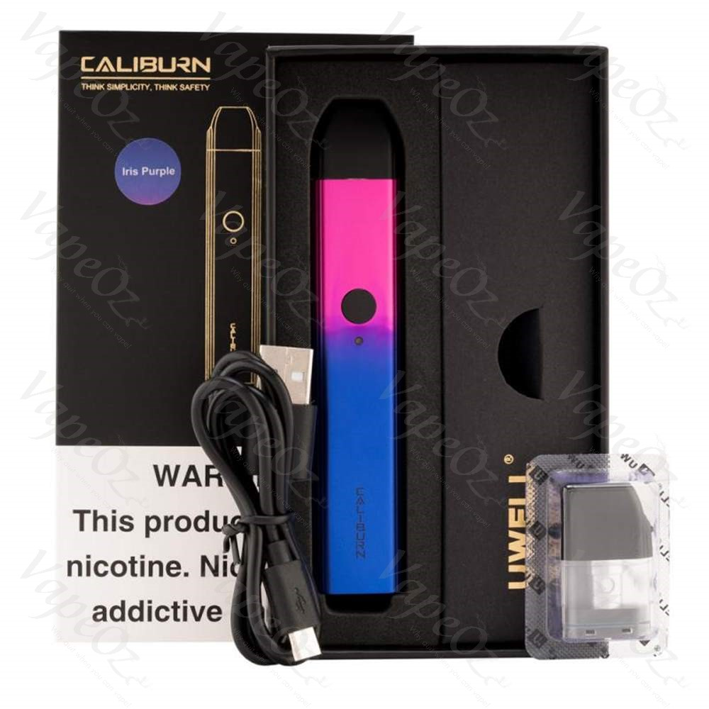 uwell caliburn pod kit box