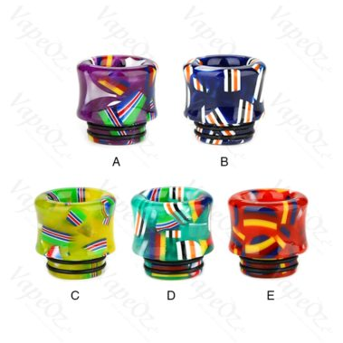 Flag Drip Tip 810 Colours VapeOz
