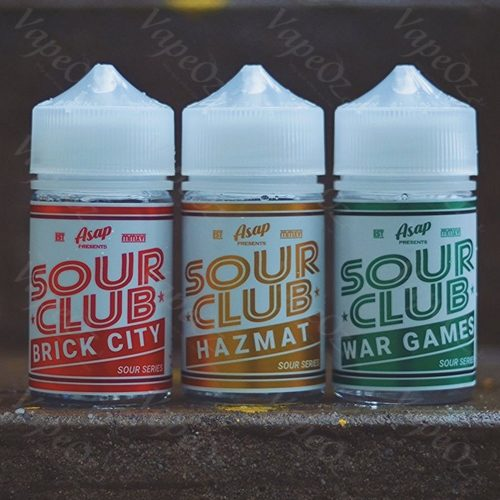 ASAP sour club range 60ml VapeOz