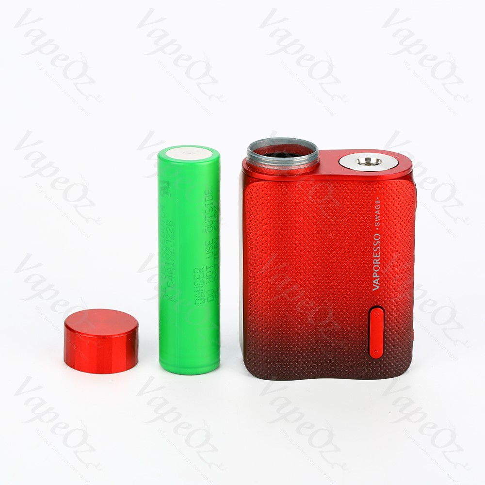 Vaporesso Swag 2 Mod 80W Red Battery Out VapeOz