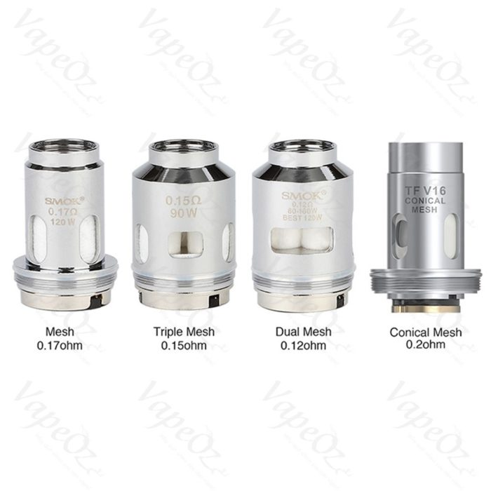 SMOK TFV Coils 3pkt options VapeOz