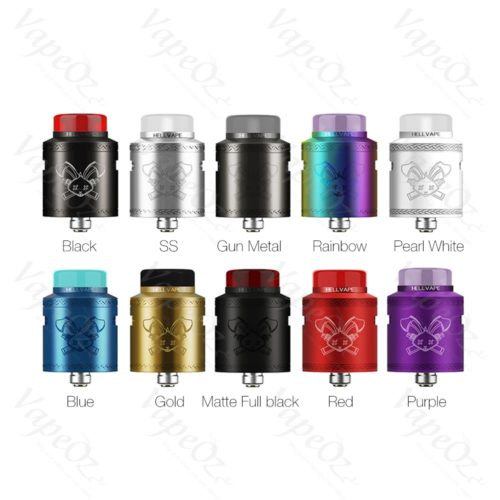 Hellvape Dead Rabbit V2 RDA Colours VapeOz