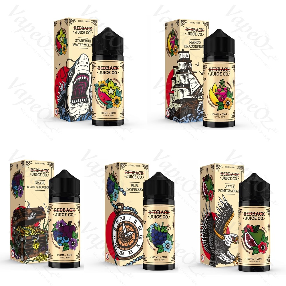 Redback Ejuice Options VapeOz