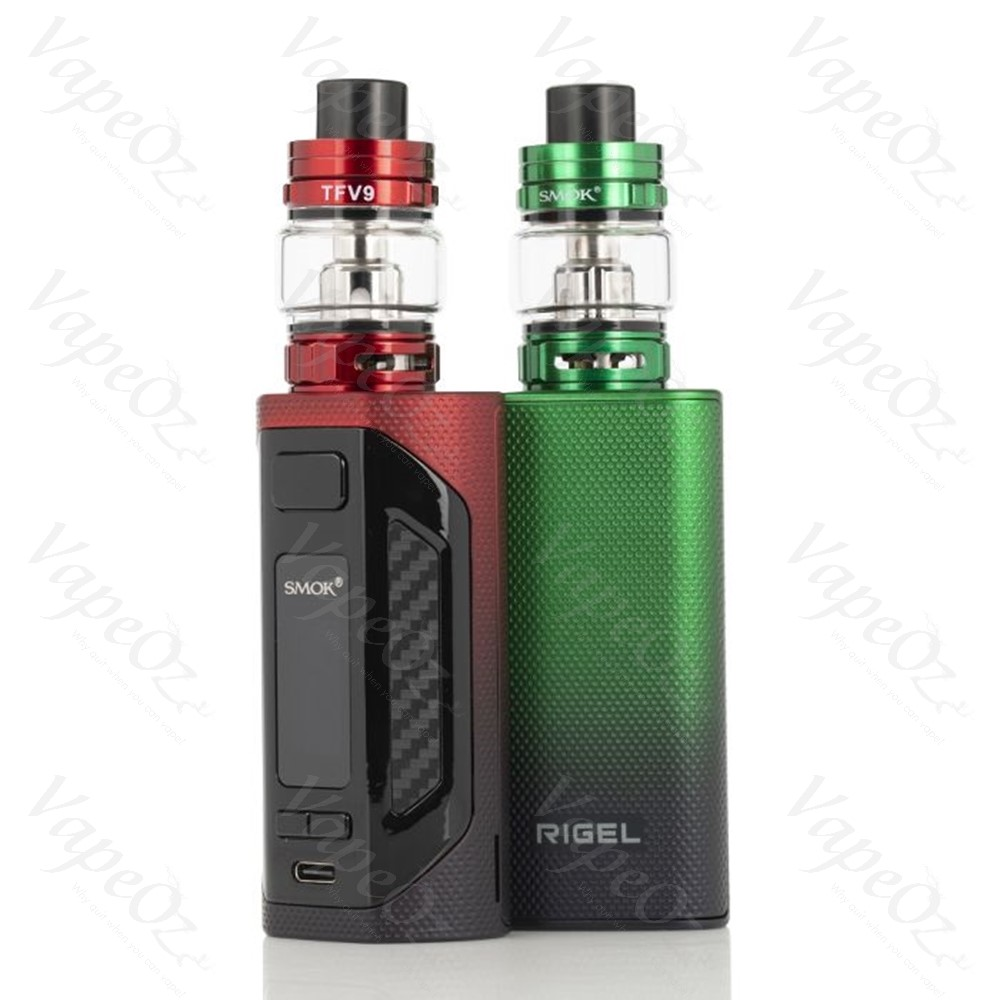 SMOK Rigel Kit 230W Back Screen VapeOz
