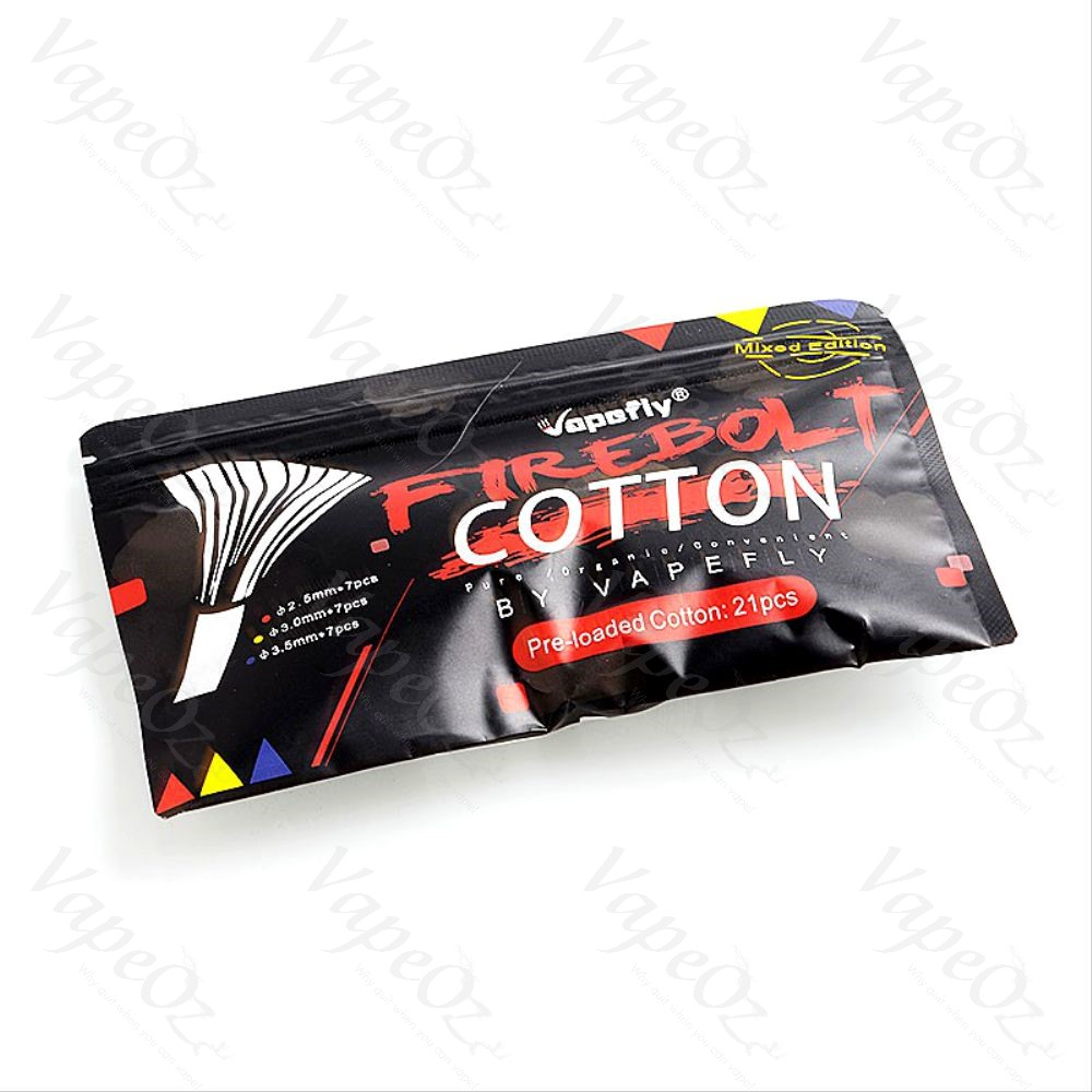 Vapefly Firebolt Cotton Mixed Edition Closed VapeOz