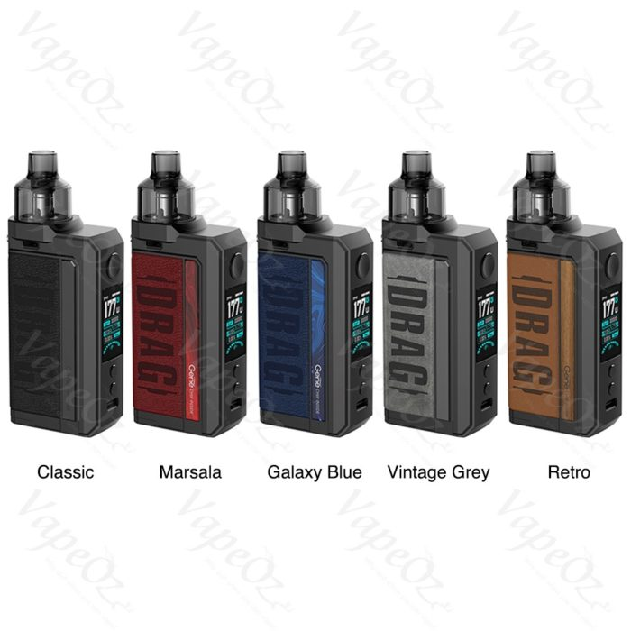 Voopoo Drag Max Kit Colours VapeOz