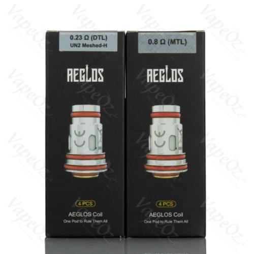 Uwell Aeglos Coils Options VapeOz