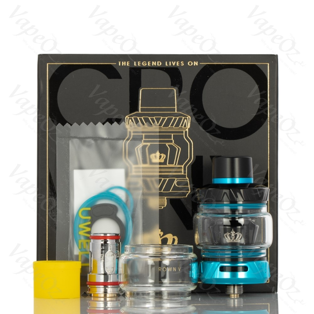 Uwell Crown 5 Tank Contents VapeOz