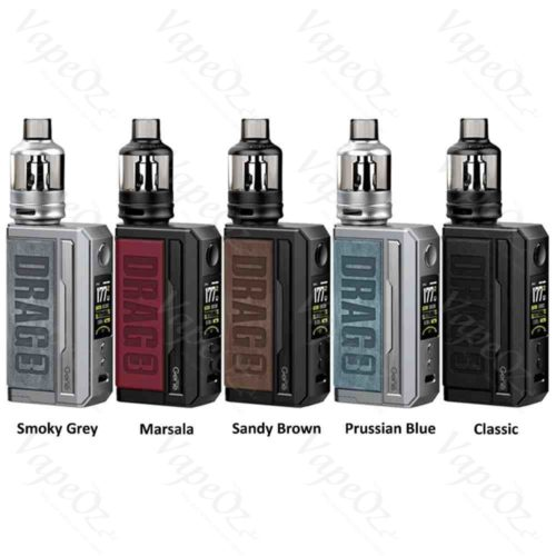 Voopoo Drag 3 Kit Colours VapeOz