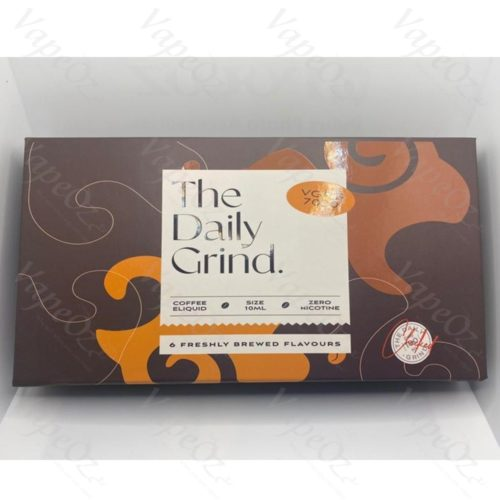 The Daily Grind Ejuice Sample Box Closed VapeOz